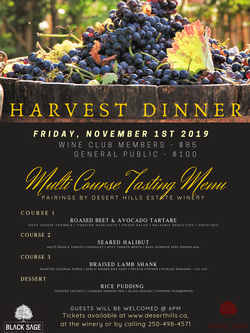 Harvest Dinner Ticket (General)