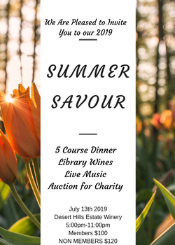 Summer Savour Party